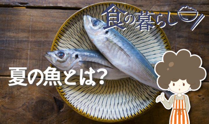 夏の魚とは?選び方や美味しい食べ方を紹介