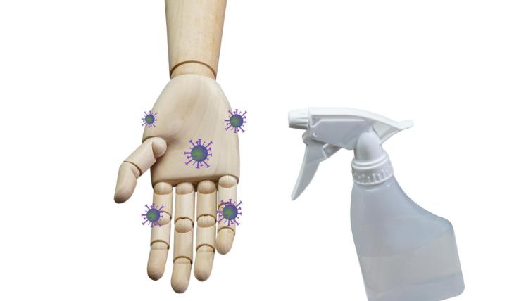 手洗いとアルコール消毒液はどちらが食中毒予防に効果的?