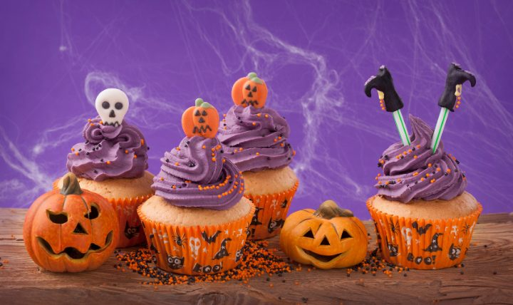 ハロウィンは可愛いお菓子を作ろう